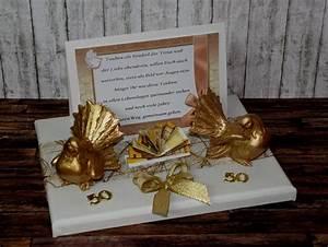 Geschenke Basteln Zur Hochzeit : beste geschenke zur goldene hochzeit basteln geldgeschenk goldene hochzeit 412 individuelle ~ Bigdaddyawards.com Haus und Dekorationen