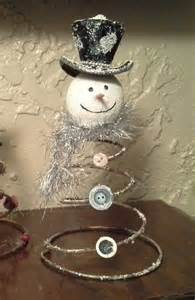 Bed Spring Snowman
