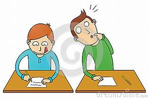 Cheating Student Royalty Free Stock Photo - Image: 34118195