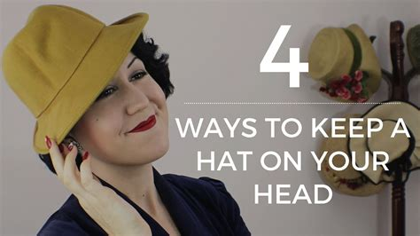 How To Keep A Hat On Your Head