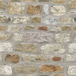 Arthouse Cottage Stone Wallpaper Decorating, DIY - B&M