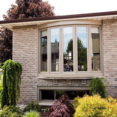 thermal break aluminum casement bay windows