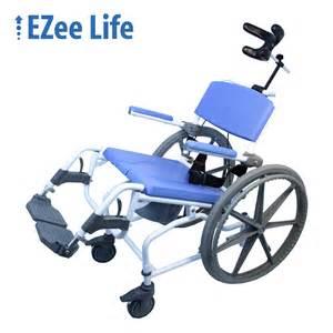 aluminum shower commode chair w 24 wheelchair wheels