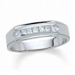 Men S Channel Cut Diamond Rings Wedding Promise