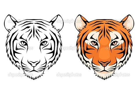 images  tiger siluets graphic tatoo
