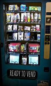 Office Supply Vending Machines Introduced In Library