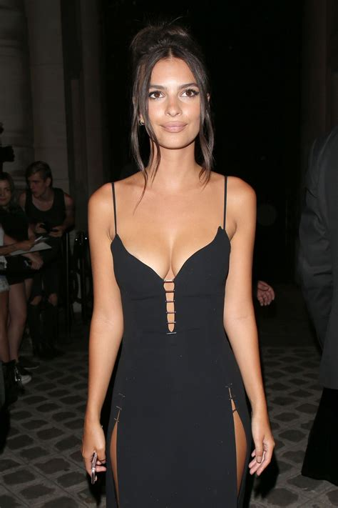 Emily Ratajkowski - Vogue Party in Paris, France 07/04/2017