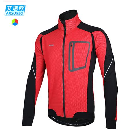 waterproof winter cycling jacket aliexpress com buy arsuxeo 2015 winter warm up thermal