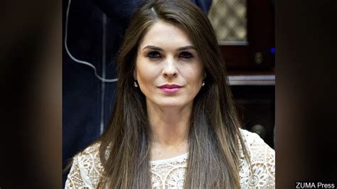 UPDATE: Hope Hicks not answering questions about White House