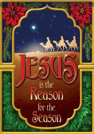 Jesus Is the Reason for the Season Flag