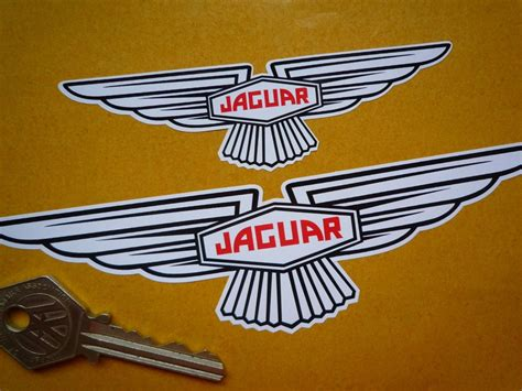 Jaguar 'slim' Wing Lozenge Sticker Sticky Backed Or. Kycie Signs. Green Floral Banners. Converted Signs Of Stroke. Ice Cream Signs Of Stroke. Spectacles Logo. Outdoor Sign Lettering. Departure Logo. Make Your Own Prints