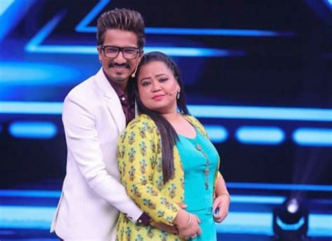 Bharti Singh promises on National television that she will ...