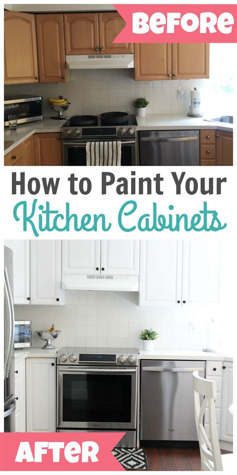 Your Kitchen by How To Paint Kitchen Cabinets Happy Home