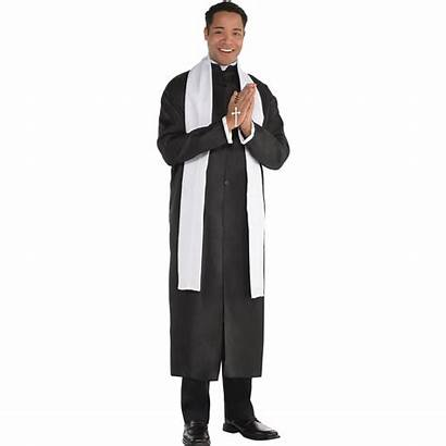 Priest Costume Father Adult Adults Amscan Party
