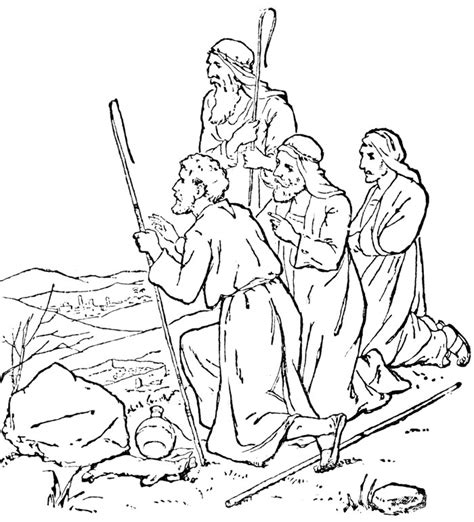 printable bible coloring pages  kids