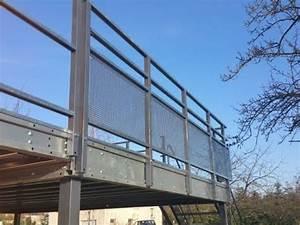 Terrasse Metallique Suspendue : montage terrasse ext rieure sur pilotis pour particuliers youtube ~ Dallasstarsshop.com Idées de Décoration