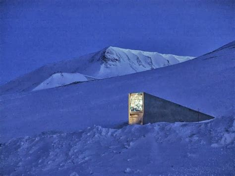 spitsbergen seed vault what is hidden in this x files style doomsday mountain vault this is incredible cools and fools