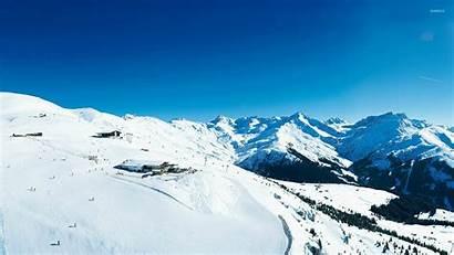 Ski Resort Wallpapers Winter Skiing Mountain Screensavers