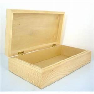 Boite Avec Cadenas : boite en bois avec couvercle supports bois supports d corer d coration cr ative ~ Teatrodelosmanantiales.com Idées de Décoration