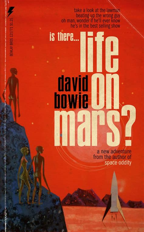 david bowie songs reimagined  pulp fiction book covers