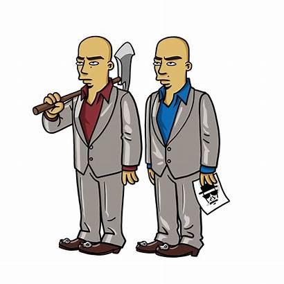 Breaking Bad Simpson Twins Simpsonized Characters Simpsons