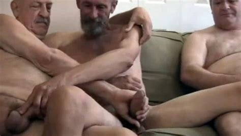 Four Old Daddies Having An Exciting Gay Orgy Gay Mature
