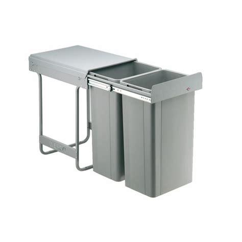 poubelle cuisine 2 bacs poubelle de cuisine tri selectif maison design bahbe com
