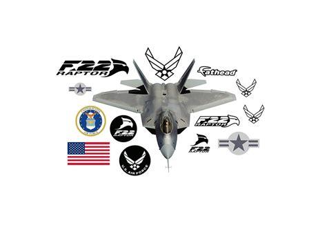 raptor wall decal shop fathead  air force decor