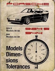 944  944s  944 Turbo Technical Spec Books Online  - Rennlist