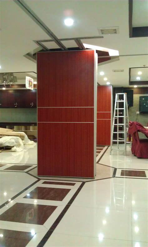 plywood gypsum wooden hanging sliding partition walls