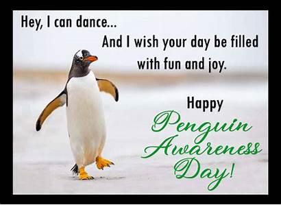 Penguin Dance Awareness 123greetings Ecard Greeting