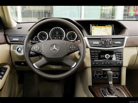 mercedes benz  class sedan interior dashboard view