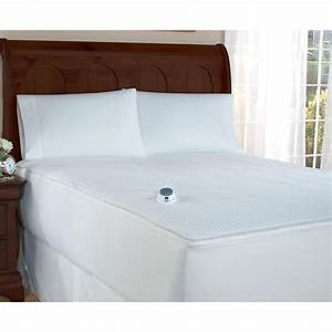 Soft heatr removable top warming mattress pad 194790 for Best soft mattress pad