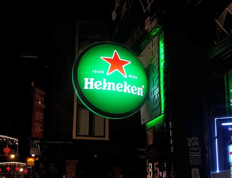 Heineken Sign - GRO design