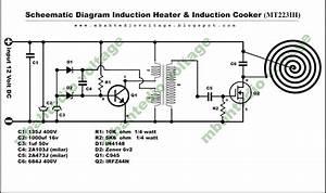 Diagram  Schematic Circuit Diagram Of Induction Cooker