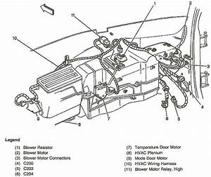 I Need A Diagram For The Ductwork Hvac System For A 1999 Gmc Yukon 4x4 5 7 Sle  The Part That