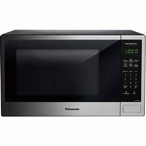 Panasonic 1 3 Cu Ft Microwave Oven  Stainless