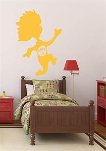 Dr seuss wall decals thing 2 customvinyldecorcom for Kitchen colors with white cabinets with dr seuss wall art decor