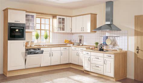 quelle küche landhaus einbauküche amra magnolienweiss kassette küchen quelle