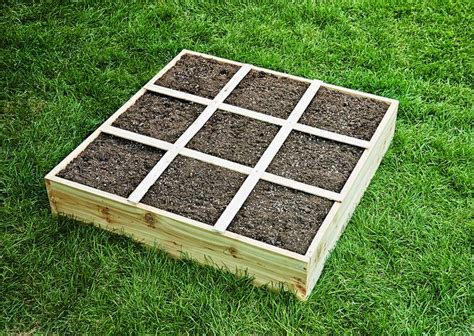 building a garden box how to build a square foot garden box easy step by step