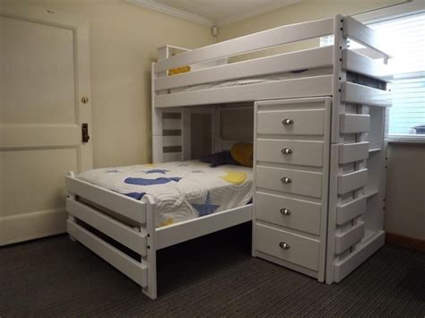 240 beds with storage b240 l shape bunk bed the bunk loft factory