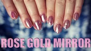 Rose Gold Sprühlack : rose gold chrome nails semiflash semilac youtube ~ A.2002-acura-tl-radio.info Haus und Dekorationen