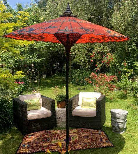 luxury garden parasols patio umbrellas   garden