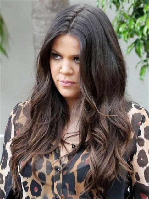 Brown And Hairstyle by Khloe Brown Wavy Hairstyles Popular Haircuts