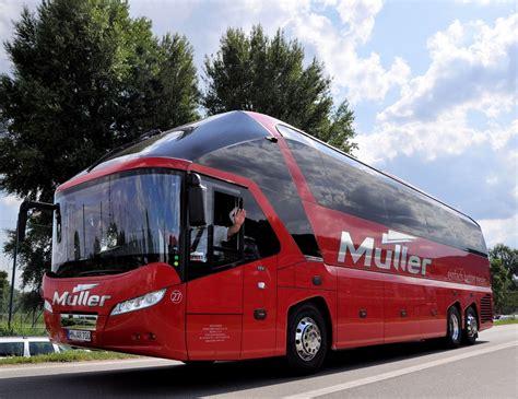 neoplan starliner von mueller busreisen aus deutschland