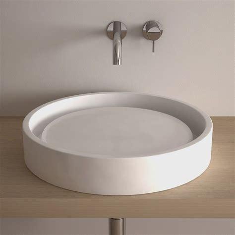 salle de bain ronde vasque 224 poser ronde 50 cm c 233 ramique asako