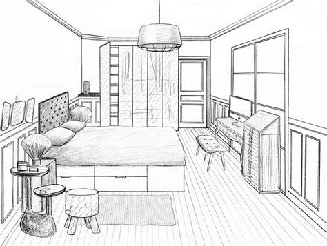 dessin d une chambre les 26 meilleures images du tableau dessins sur