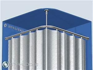 Duschstange L Form : winkel eck duschstange duschvorhangstange wei 80 x 80 cm metall eur 7 90 picclick de ~ Orissabook.com Haus und Dekorationen