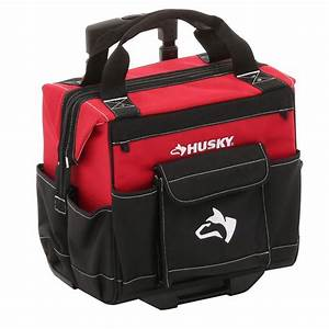Husky 14 in Rolling Tool Tote-GP-44316AN13 - The Home Depot