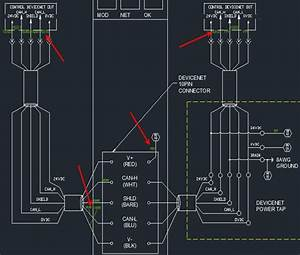 Terminal Autocad  Hidden Wires And Wire Numbers